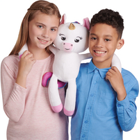 Fingerlings peluche interactive Hugs Gigi la Licorne-Image 2