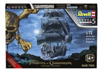 Revell Pirates of the Caribbean Black Pearl-Vooraanzicht