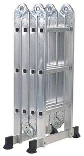 Escalo échelle pliante en aluminium avec plateforme -Détail de l'article