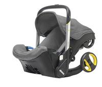Doona Omvormbare draagbare autostoel Groep 0+ storm-Vooraanzicht