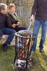 Barbecook foyer à bûches avec cendrier Modern Ronda-Image 1