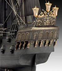 Revell Pirates of the Caribbean Black Pearl-Achteraanzicht