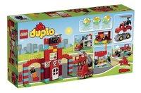 LEGO DUPLO 10593 Brandweerkazerne-Achteraanzicht