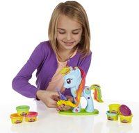 Play-Doh Mon Petit Poney Rainbow Dash Salon branché-Image 2