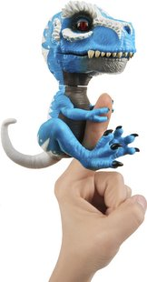 WowWee interactieve figuuur Fingerlings Untamed T-Rex Ironjaw-commercieel beeld