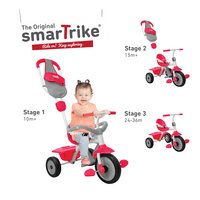 smarTrike tricycle 3 en 1 Play GL rouge/gris-Image 1