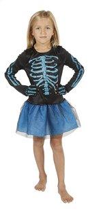 Verkleedpak skelet maat 164-Vooraanzicht