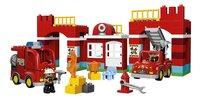 LEGO DUPLO 10593 Brandweerkazerne-Vooraanzicht