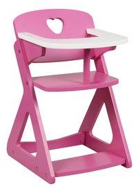 DreamLand Chaise haute en bois