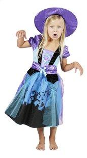 Verkleedpak heks paars en blauw maat 110-Afbeelding 2