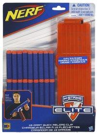 Nerf lader met 18 pijltjes Elite Refill Dart Clip