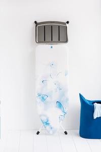 Brabantia Planche à repasser Butterflies C pour centrale vapeur bleu/blanc-Image 1