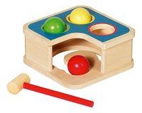 Goki houten klopbank 2-in-1-Vooraanzicht