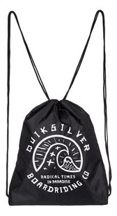 Quiksilver sac de gymnastique Wave Acai Black