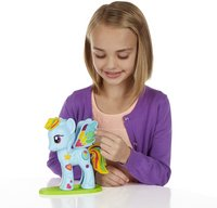 Play-Doh Mon Petit Poney Rainbow Dash Salon branché-Image 1