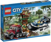 LEGO City 60071 De arrestatie op de hovercraft