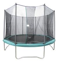 Ensemble trampoline diamètre 3,66 m vert