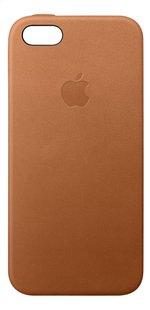 Apple cover voor iPhone 5/5S/SE leder bruin