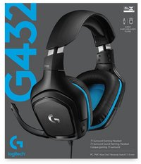 Logitech headset G432 Wired-Vooraanzicht