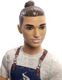 Barbie poupée mannequin  Careers Ken Barista-Détail de l'article