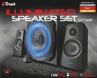 Trust haut-parleur Bluetooth GXT 628 2.1 Illuminated speaker set Limited Edition-Avant