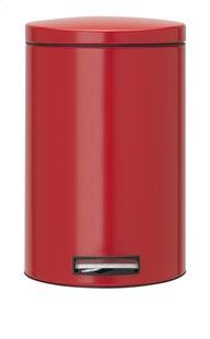 Brabantia pedaalemmer 12 l Passion Red