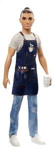 Barbie mannequinpop Careers Ken Barista-commercieel beeld