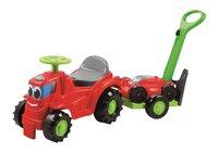 Écoiffier trotteur Tracteur tondeuse avec remorque vert