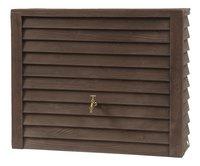 Garantia Regenton Woody donkere houtlook 350 l-Vooraanzicht
