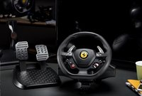 PS4 Thrustmaster stuurwiel met pedalen T80 Ferrari 488 GTB Edition zwart-Afbeelding 2