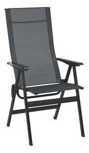 Lafuma Chaise de jardin réglable Zen-It Batyline Duo obsidian-Avant