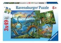 Ravensburger puzzle 3 en 1 La fascination des dinosaures
