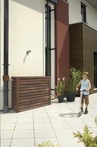 Garantia Tonneau de pluie Woody aspect bois foncé 350 l-Image 2