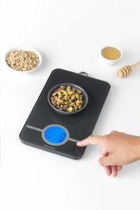 Brabantia Balance de cuisine numérique Tasty+ dark grey-Image 1