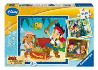 Ravensburger 3-in-1 puzzel Jake's piratenwereld
