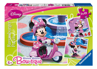 Ravensburger 3-in-1 puzzel Minnie in het park