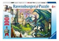 Ravensburger puzzel Drakenrijder-Vooraanzicht