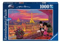 Ravensburger puzzel Mickey en Minnie Mouse in Parijs