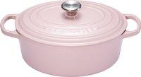 Le Creuset cocotte ovale Signature Chiffon Pink 29 cm - 4,7 l