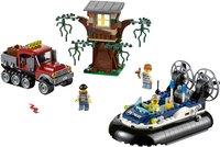 LEGO City 60071 De arrestatie op de hovercraft-Vooraanzicht