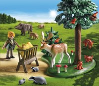 Playmobil Country 6815 Garde forestière avec animaux-Image 1