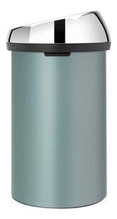 Brabantia Afvalemmer Touch Bin metallic mint 60 l-Rechterzijde