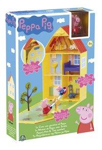 Peppa Pig speelset Peppa's huis en tuin-Linkerzijde