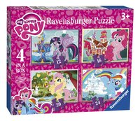 Ravensburger puzzle 4 en 1 Mon Petit Poney-Côté gauche