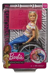 Barbie Fashionistas 132 - Barbie en chaise roulante-Avant