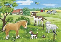 Ravensburger puzzle 2 en 1 Bébés animaux de la terre-Détail de l'article