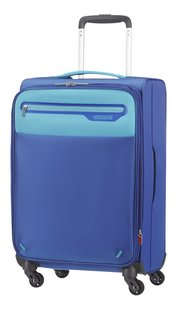 American Tourister Valise souple Lightway Spinner EXP blue/light blue 55 cm