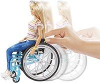Barbie Fashionistas 132 - Barbie en chaise roulante-Image 1