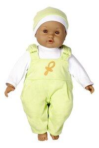 DreamLand poupée souple Ma première poupée salopette verte