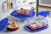 Pyrex Set de 7 plats à four/boîtes de conservation Cook & Go-Image 1